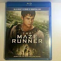Pre-Owned The Maze Runner (2014 Blu-Ray) 2 Discs Dylan O'Brien Kaya Scodelario