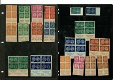 L001 Israel Perf & Imperf FORGERIES on 2stockleaves