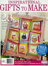 INSPIRATIONAL GIFTS TO MAKE NO 2.  MAGAZINE   PATTERN SHEET ATTACHED