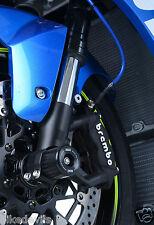 Suzuki GSXR1000 2012 - 2017 R&G racing fork crash protectors black GSXR