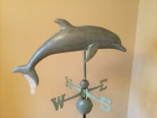 Good Directions Blue Verde Copper Dolphin Weathervane - 9507V1 w/Roof Mount #2