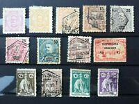 Lourenco Marques (Portuguese colony) 1895-1914: 13 values,  MH and used
