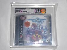 NEW Phantasy Star Online Ver 2 Sega Dreamcast VGA 90+ NM+/MT UNCIRCULATED Gold