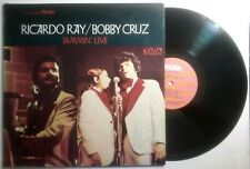 Ricardo Ray Bobby Cruz Jammin Live VAYA RECORDS VS-13 1972 Salsa VG+ LP#1681