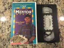 MEET THE MENTOR VIDEO STEVE POWELL VHS NOT ON DVD KIDS EDUCATIONAL FOOD FARMER