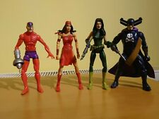 Marvel Hasbro figure bundle X4, Grim Reaper, Viper, Elektra, Klaw