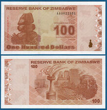 SIMBABWE / ZIMBABWE 100 Dollars  2009  UNC  P.97