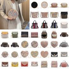 Fashion Woolen Women Shoulder Bag Casual Zipper Crossbody Messenger Handbag LOT