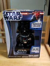 Star Wars Darth Vader Gumball Dispenser With Machine Lights & Sound New