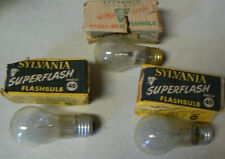 Vintage Sylvania Superflash Flashbulb Press 40 Lot of 3 in original packages