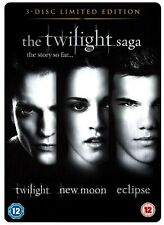 The Twilight Saga Triple (DVD-2010,3-Disc Limited Edition/STEEL-BOOK) Region 2**