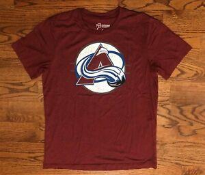 Colorado Avalanche Hockey NHL 108 Stitches T-Shirt Men's Large NWOT