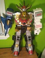 "Power Rangers 24"" Wild Force Megazord Robot Bandai 2001 RARE"