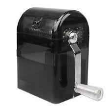 Hand Crank Grinder Crusher Tobacco Herbal Cutter Shredder Smoking Case Muller.