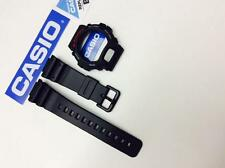 CASIO Genuian DW-6900 DW6900 DW-6900 DW6600 G-Shock Black BAND & BEZEL Combo