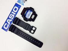 CASIO DW-6900 DW6600 G-Shock Black BAND & BEZEL Combo