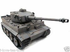 Mato 2.4Ghz Complete Metal Tiger I RTR RC Tank With BB Pellet Grey Color