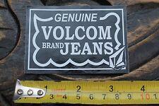 VOLCOM Stone Brand Denim Jeans Surf Snow Vintage Skateboarding Decal STICKER