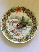 Christmas Sleighride By F. F. Errill 1993 Royal Albert Bone China England