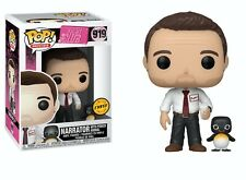 Funko Pop Movies: Fight Club - Narrator with Power Animal Chase Limited Edition