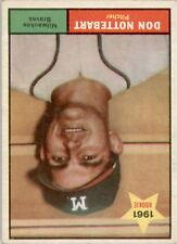 1961 Topps 29 Don Nottebart VG #D331993