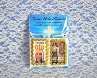 Our Lady of Fatima 100-Year & St. Francisco & Jacinta Wool Scapular (Last one)