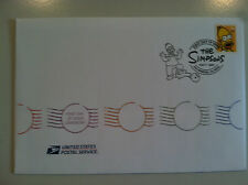Homer Simpson Stamp First Day Ceremony Envelope/Card/Program