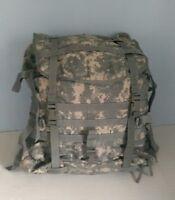 US Military MOLLE II Large Rucksack Digital Camo Pack Bag Camping Survival Clean