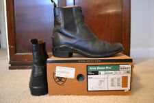 Ariat Devon Pro 50501 Youth Size 3 Black Equestrian Leather Paddock Boots