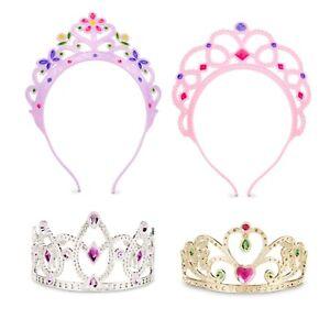 Girls Dress Up Tiaras Toddler Disney Princess Costume Little Crown Set Play Toy