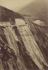 Chemin de fer de la Mine France Vintage albumine ca 1890