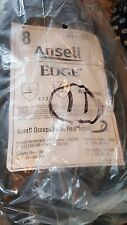 Ansell -40-105-8 Edge Nitrile Gloves 11 pairs new