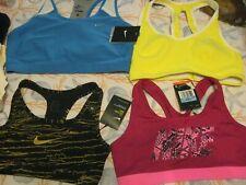 NIKE DRI-FIT Womens Sport Bras, Polystr/Spandex, NWt, MSRP-$35-$60