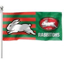 South Sydney Rabbitohs NRL Pole Flag 1800mm by 900mm BNIP Cape SSTID !!!!