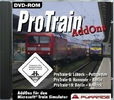 ProTrain AddOns - Für den Microsoft Train Simulator (PC) - NEU & SOFORT