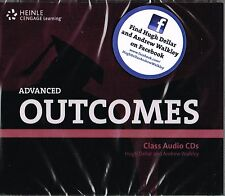 HEINLE / CENGAGE Learning OUTCOMES Advanced CLASS AUDIO CD's (3) @NEW SEALED@