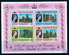 Gren St Vincent 1978 Anniv.of Coronation MS SG134 MNH