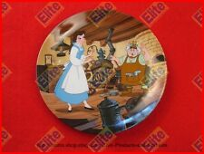"""Beauty and The Beast Collectors Plate """"Papa's Workshop"""" by Knowles/Disney"""