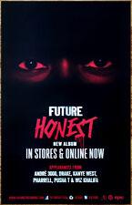 FUTURE Honest Ltd Ed Discontinued RARE Poster +FREE Rap/Hip-Hop Poster! DS2 Evol