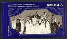 Antigua 1977  Silver Jubilee Booklet  VF