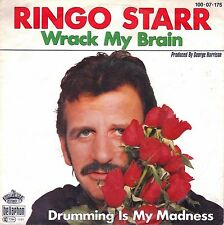 "7"" Ringo Starr (Beatles) – Wrack My Brain // Germany 1981"