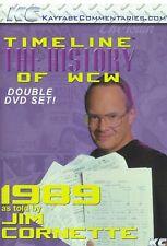WCW Timeline 1989 Jim Cornette WWE WCW ECW NWO Ric Flair Sting NWA Lex Luger