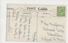 Mrs Montgomery Richmond Lodge Strandtown Strandtown Co Down Ireland 1914 301b