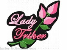 LADY TRIKER LARGE PATCH... ... BIKER PATCH