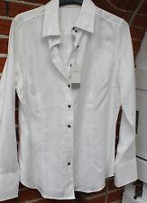 Bluse - van Laack Gr. 46 -weiß - Hemdbluse - Modell Debby -- Neuware