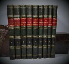 MICHELET Histoire de France Histoire de La Révolution HETZEL illustrée 9/9 vol.