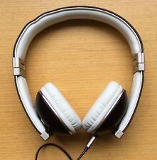 Polk Audio Headphones HINGE BROWN 2013 w/ Built-In 3-Button Remote In Line Mic