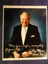 Ray Meyer (HOF 79) Signed 8 x 10 Color Photo with COA