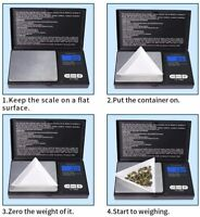 Pocket 1000g x 0.1g Digital Jewelry Gold Coin Gram Balance Weight Precise Scale