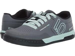New Women's Five Ten 5.10 by Adidas Freerider PRO Bike Shoes Size 7 Grey/Mint